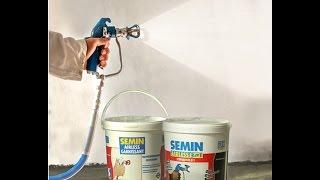 Семин Рус (SEMIN), мы знаем как покрасить потолок и стены быстро и надолго.